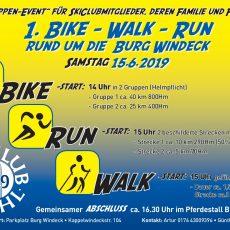 1. Bike – Walk – Run